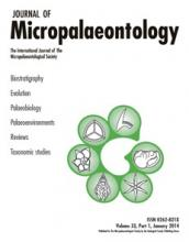 Journal of Micropalaeontology: 33 (1)